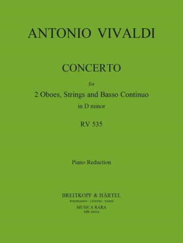 CONCERTO in D minor RV535 P302