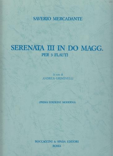 SERENATA III in C