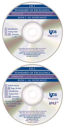 STANDARD OF EXCELLENCE Book 2 Enhancer Kit