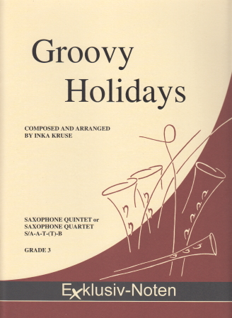 GROOVY HOLIDAYS  score & parts