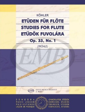 STUDIES FOR FLUTE Op.33 No.1