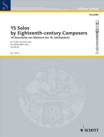 15 SOLOS by 18th Century Composers