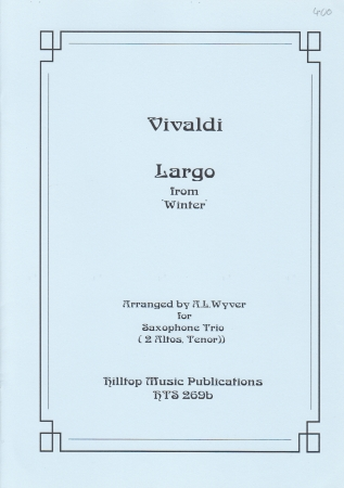 LARGO from 'Winter' (score & parts)