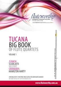 TUCANA BIG BOOK of Flute Quartets