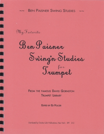 MY FAVORITE BEN PAISNER SWING'N STUDIES
