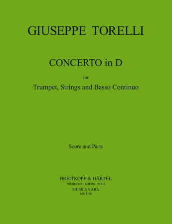 CONCERTO in D major 'Etienne Roger' (score & parts)