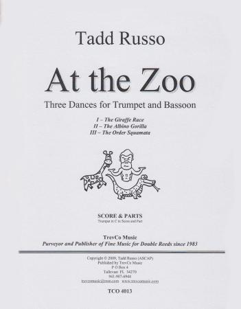 AT THE ZOO Three Dances