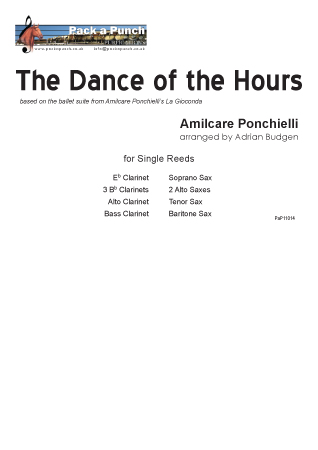 DANCE OF THE HOURS from La Giaconda