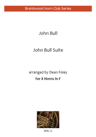 JOHN BULL SUITE (score & parts)