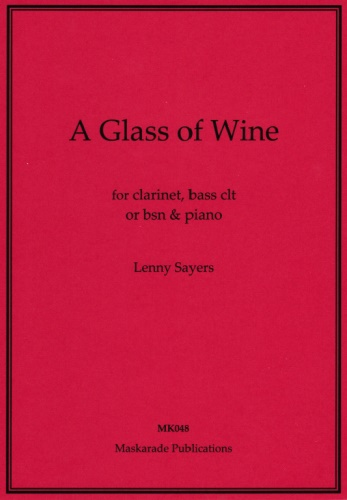 A GLASS OF WINE (score & parts)