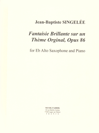 FANTAISIE BRILLANTE sur un Theme Original Op.86