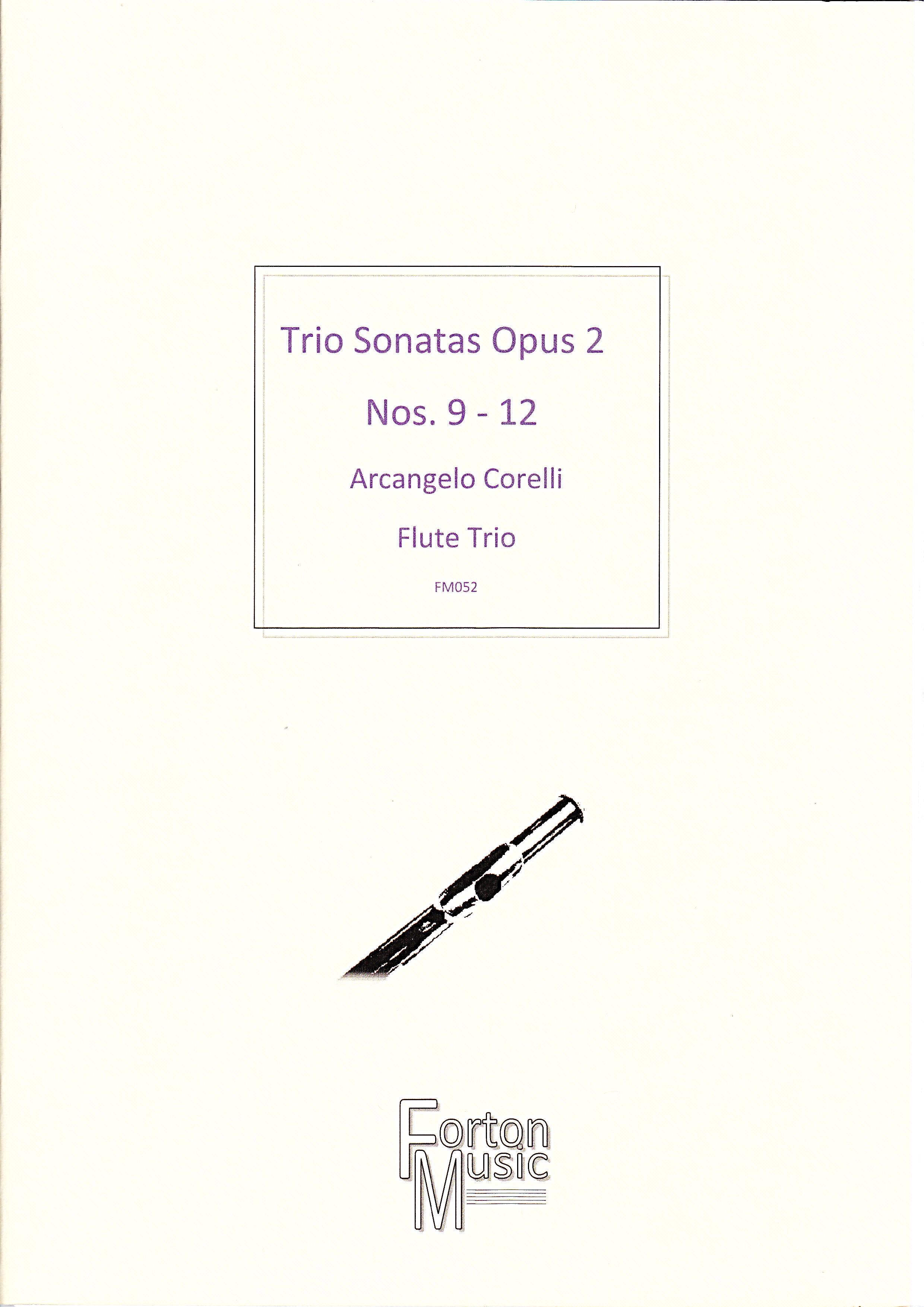 TRIO SONATAS Op.2 Nos.9-12