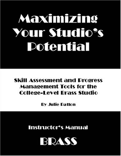 MAXIMISING YOUR STUDIO'S POTENTIAL Instructor's Manual