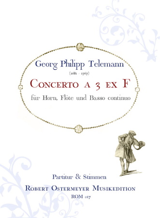CONCERTO a 3 (score & parts)