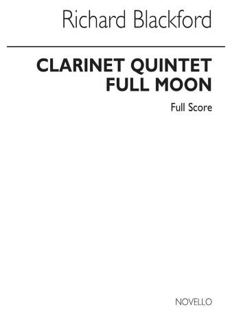 CLARINET QUINTET Full Moon (score)