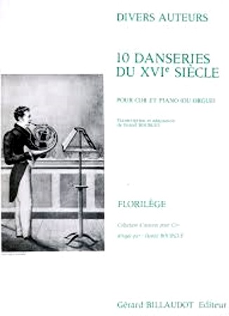 10 DANSERIES DU XVI SIECLE