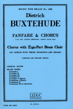 FANFARE AND CHORUS vocal part only