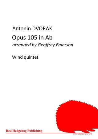 OPUS 105 in Ab major (score & parts)