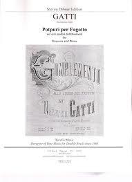 POTPURI PER FAGOTTO su Vari Motivi del Donizetti