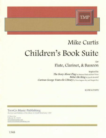 CHILDREN'S BOOK SUITE (score & parts)
