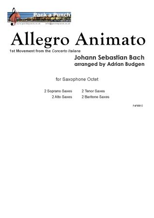 ALLEGRO ANIMATO (score & parts)