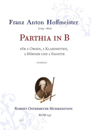 PARTHIA in Bb major score & parts