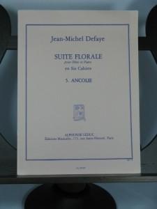 SUITE FLORALE 5: Ancolie