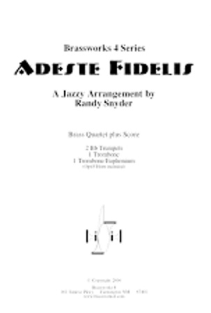 ADESTE FIDELES (Jazzy)