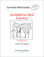 SCHERZO & TRIO in G minor (score & parts)