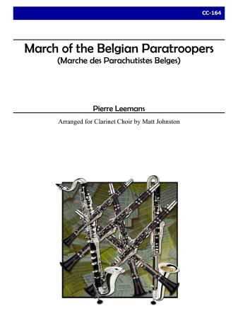 MARCH OF THE BELGIAN PARATROOPERS (score & parts)