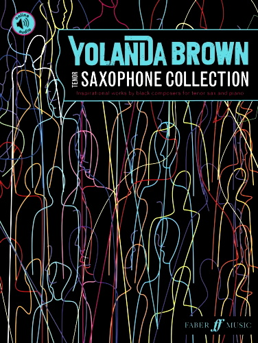 YOLANDA BROWN TENOR SAXOPHONE COLLECTION + Online Audio