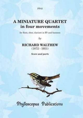 A MINIATURE QUARTET (score & parts)