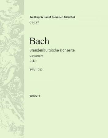 BRANDENBURG CONCERTO No.5 violin ripieno