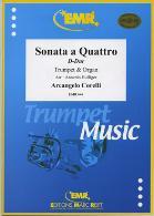 SONATA A QUATTRO in D major (WoO4)