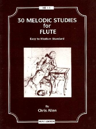 30 MELODIC STUDIES (easy to medium)