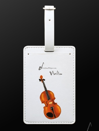 LUGGAGE TAG Violin