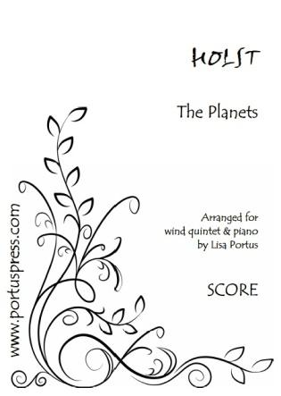 THE PLANETS (score & parts)