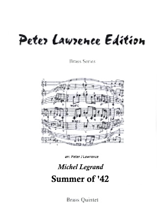SUMMER OF '42 (score & parts)