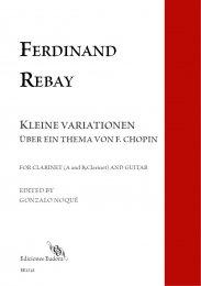 KLEINE VARIATIONEN UBER EIN THEMA VON F.CHOPIN