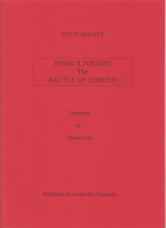 JOSHUA FOUGHT THE BATTLE OF JERICHO (score & parts)