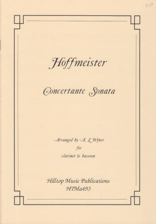 CONCERTANTE SONATA in Bb major