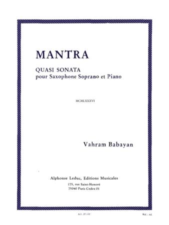 MANTRA (Quasi Sonata)
