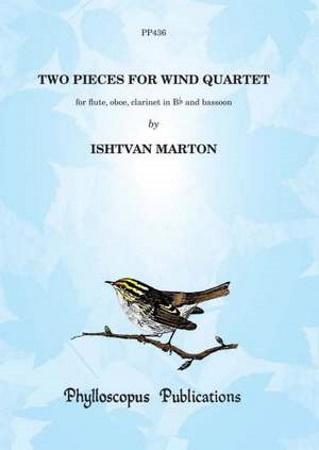 TWO PIECES FOR WIND QUARTET (score & parts)