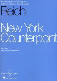 NEW YORK COUNTERPOINT Score & Clarinet Part