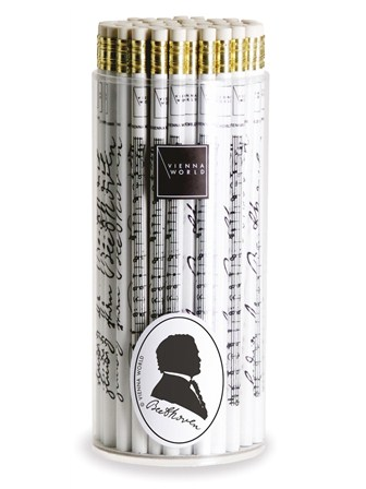 PENCIL BOX Beethoven (White - Box of 72)