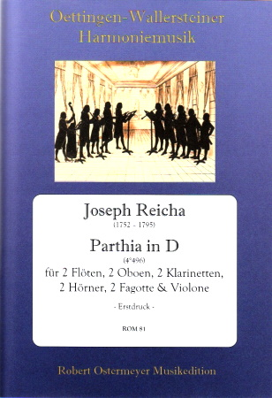 PARTHIA in D major (score & parts)