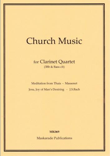 CHURCH MUSIC (score & parts)