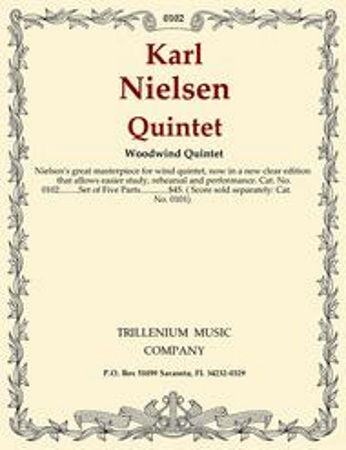 QUINTET Op.43 set of parts