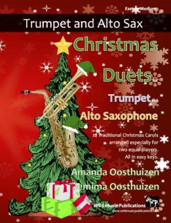 CHRISTMAS DUETS for Trumpet & Alto Saxophone