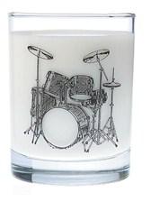 GLASS TUMBLER Drum Set